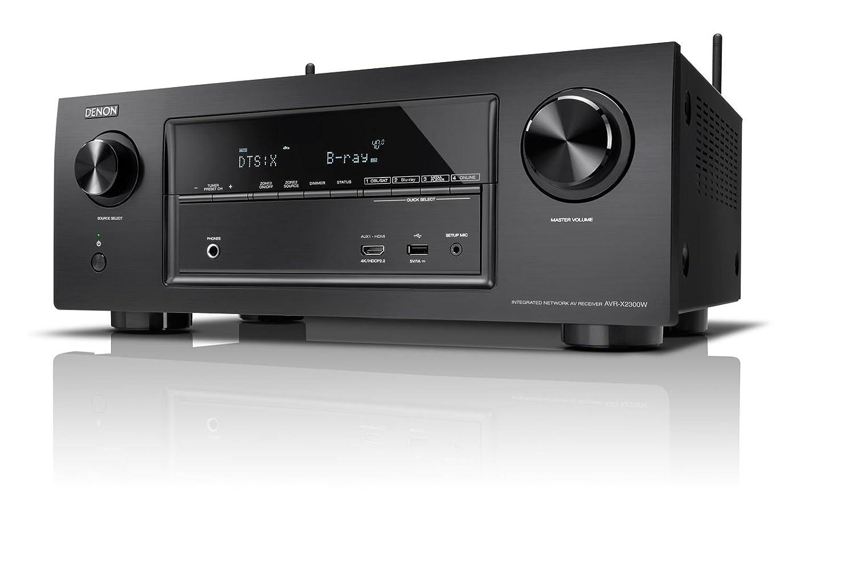 Denon AVR-X2300 Sintoamplificatore HD con Dolby HD e DTS:X, Nero