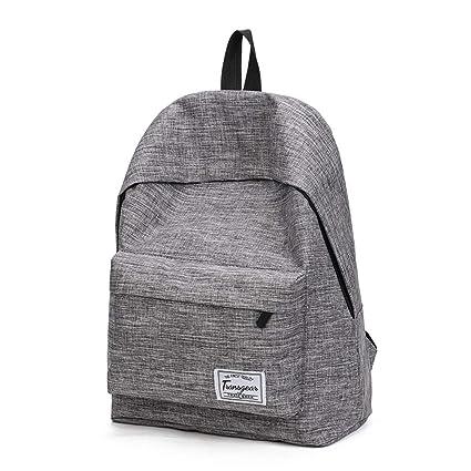 Amazon.com | Cheap Mochila Black Canvas Women Backpack School Bag For Teenagers Couple Backpacks Casual 4 Color Durable Bags | Kids Backpacks
