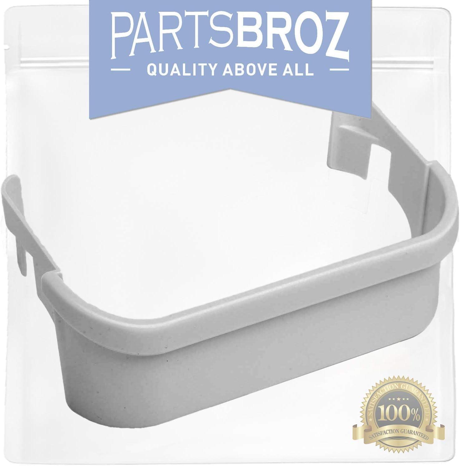 240351601 White Freezer Door Bin for Frigidaire Refrigerator, Freezer-Side Door Shelf Replacement by PartsBroz - Replaces AP2115974, 240351607, 891154, AH430027, EA430027, PS430027 61kue3TZEAL