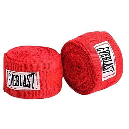 2Pcs Boxing Cotton Bandage Sanda Muay Thai MMA Taekwondo Strap Hand Wraps