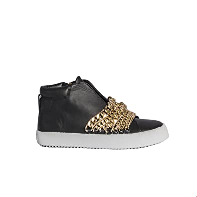 KENDALL + KYLIE FEMME TYLERGOLD OR CUIR BASKETS