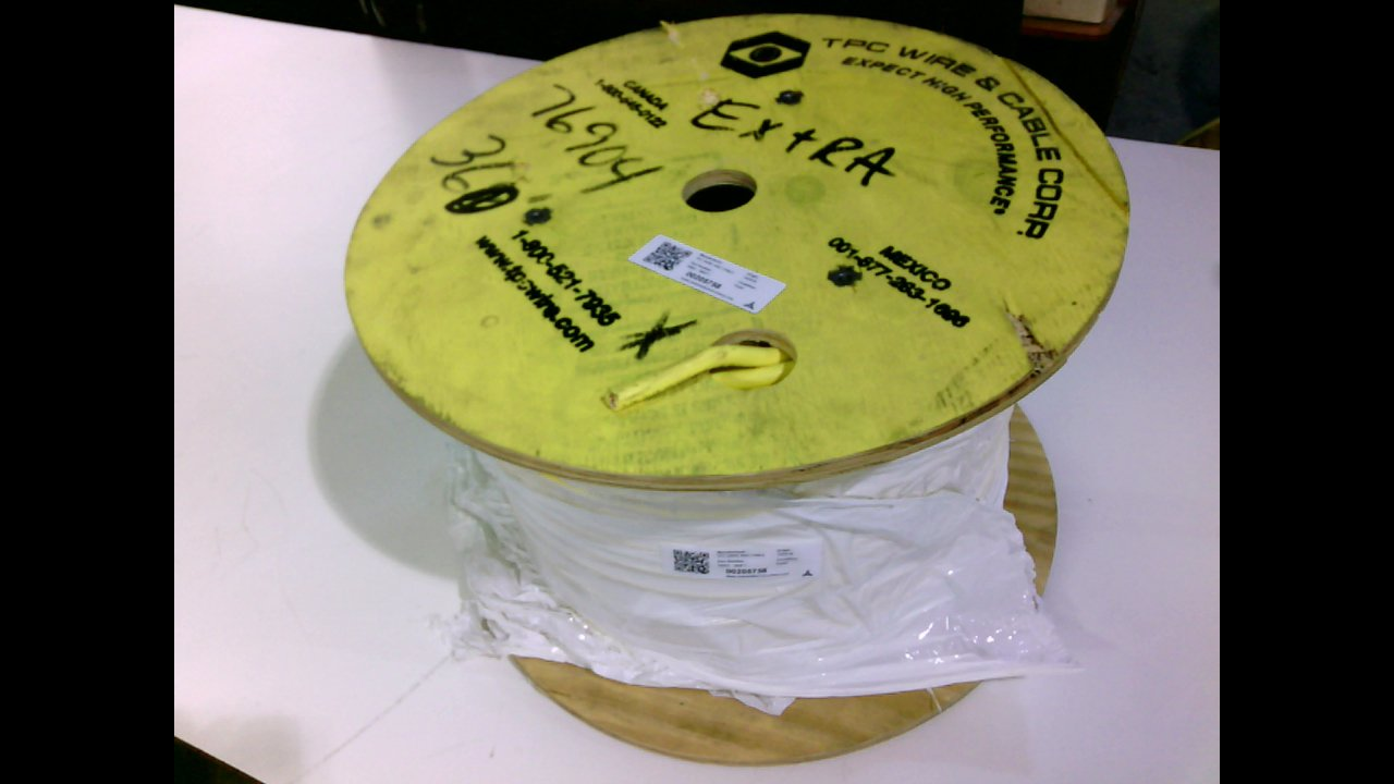 Cable Spool 14Awg 76904-360Ft Tpc Wire and Cable 76904-360Ft 360Ft 24-120V