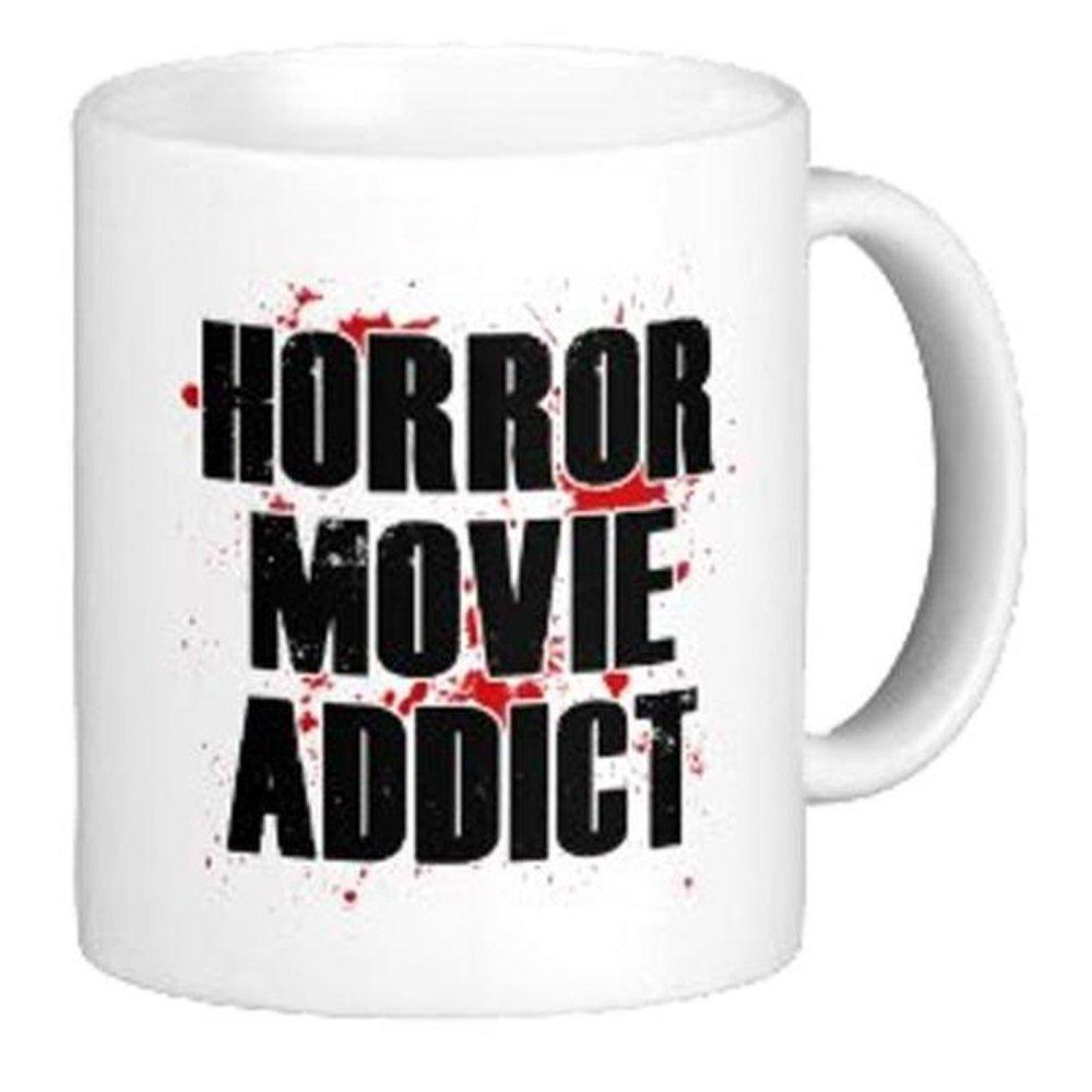 Horror Movie Addict Coffee Mug (11 oz) - Halloween Mug - Horror Movie Mug