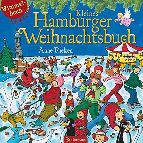 Kleines Hamburger Weihnachtsbuch: Wimmelbuch Hamburg