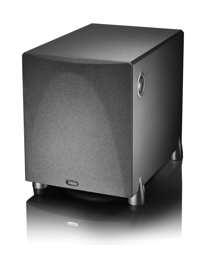 """Definitive Technology ProSub 1000 - High Output Compact 300W 10"""" Powered Subwoofer 