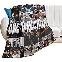 Harry Styles Manta de Tiro súper Suave y cálida Ultra-One Direction Four Soft Micro Fleece Manta Sofá Manta de Tiro de…