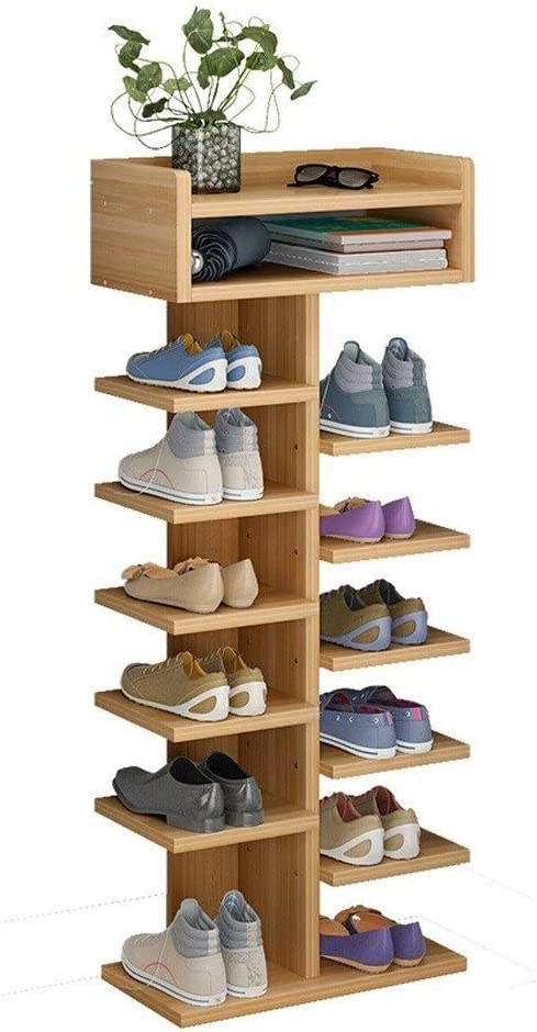 ZYCX123 Zapatos de Tela no Tejida Rack Zapatos Organizador habitaci/ón Dormitorio Bastidores del Zapato
