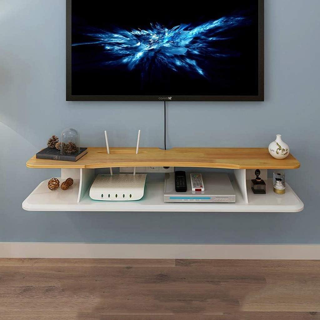 Estante flotante de pared para TV, estante de pared, estante de pared para TV, decoración de pared, estantería para TV, consola de televisión coleccionable, estante para exhibición de fotos: Amazon.es: Hogar