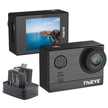 ThiEYE T5e 4K cámara de acción, procesador Ambarella A12S Sony IMX117 Sensor, 16MP,
