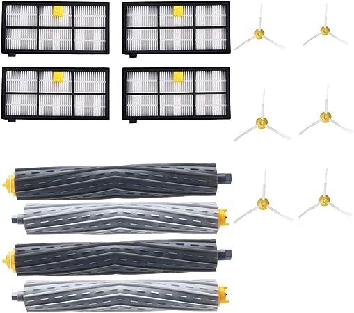 HSKB - Kit de piezas de repuesto para aspiradora Irobot Roomba 860 870 880 980 (14 unidades): Amazon.es: Hogar