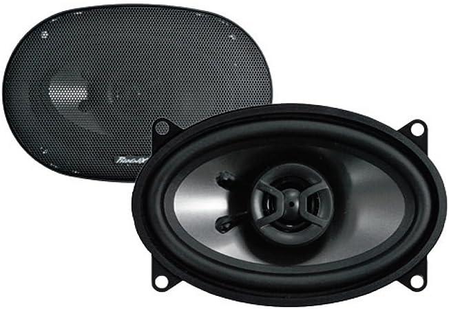 Phoenix Gold Z46cx 4x6 Zoll Koax Lautsprecher System 2 Wege 30w Rms Max 120w Impedanz 4 Ohm Frequenz 43hz 24khz Audio Hifi