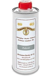 El aceite de pulido de Hermann Sachse es un recurso para ...