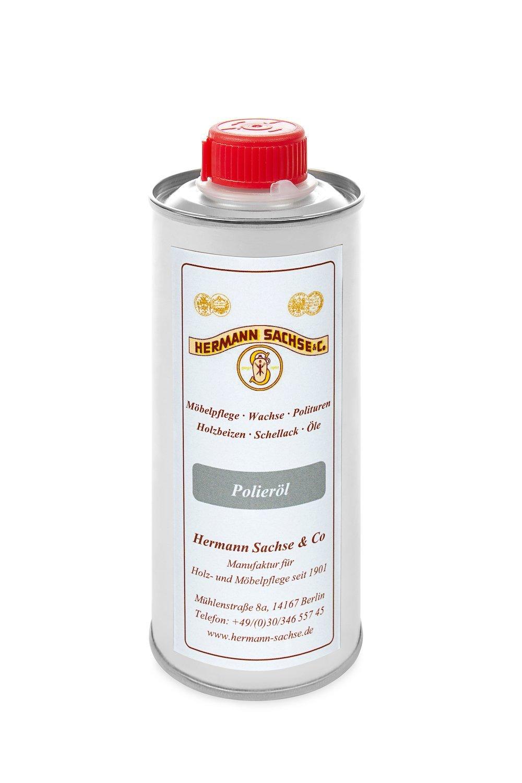 polierö l 250 ml ayudas para los –  Goma laca (pulpejo –  Abrillantador de mano Hermann Sachse