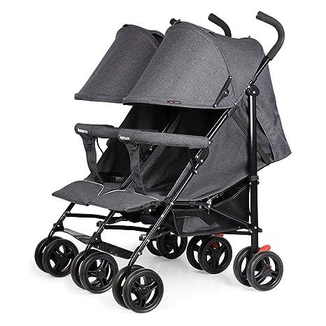Twin baby stroller zxmpfg Cochecitos para bebés Gemelos ...