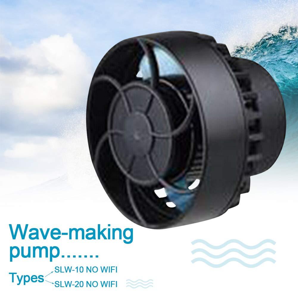 Hydra52 Aquarium Wave Maker, Aquarium Circulation Pump, Mini Wave Pump Fish Aquarium Quiet Flow Maker Frequency Conversion for Fish Tank,Aquarium,US Plug by Hydra52