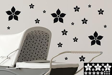 Adesivi fiori adesivo decorazione pareti prodotti vetro