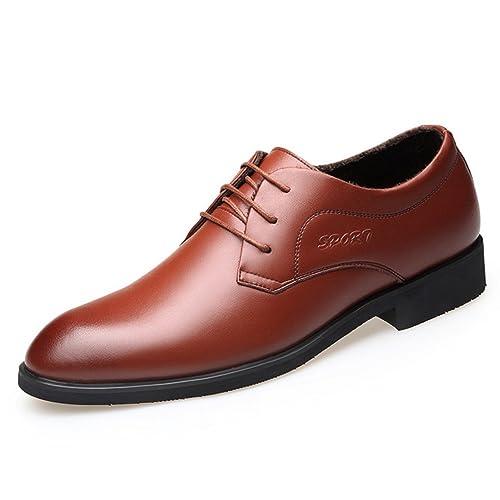 dcf2a85b80a Chaussure en Cuir d affaire a Lacet pour Homme Basse Chaussure au Loisir de  Marche