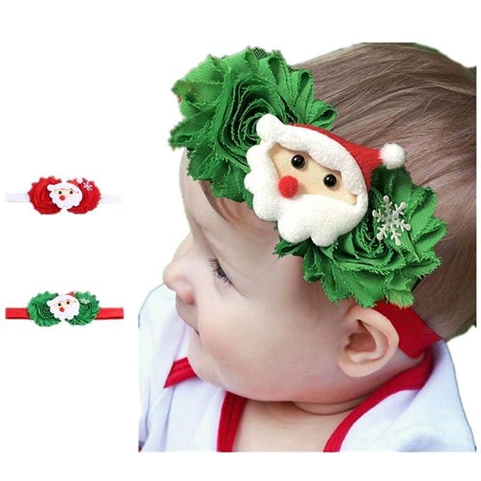 Amazon.com: Diademas de Navidad para bebé o niña, accesorios ...
