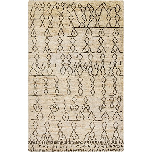Surya CSB7000-23 Hand Knotted Casual Accent Rug, 2-Feet by 3-Feet - Hand Knotted Camel