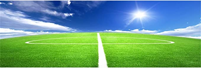 Laeacco Football On The Goals Line Scene 15x10ft Vinyl Photography Background Football Field Nightscape Sports Theme Backdrop Child Adult Portrait Shoot Boy Birthday Banner Baby Shower Wallpaper