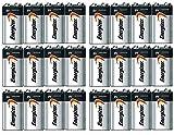 Energizer Max Alkaline 9 Volt, 24 Pack