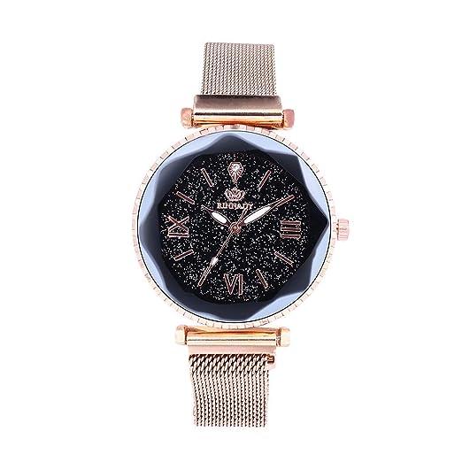 POJIETT Relojes Mujer Marca Reloj Pulsera Correa de Acero Inoxidable Relojes de Cuarzo Analógicos para Mujer Chicas de Moda Joyas Regalos Wrist Watch for ...