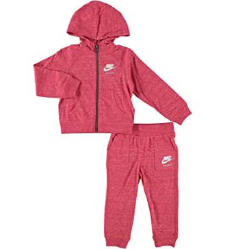 4bdcec4ebaba1 Nike - Ensemble de Sport - Bébé (Fille) Rose Red 24 Mois  Amazon.fr ...