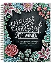Prayer Journal for Women: 52 Week Scripture, Devotional, & Guided Prayer Journal