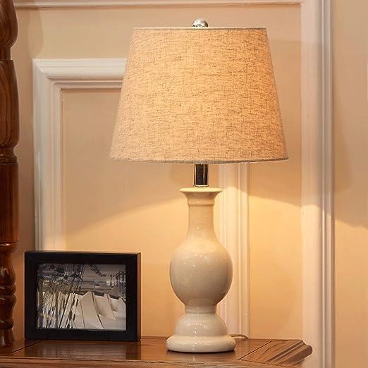 Lámpara de mesa de estilo americano Salón de la boda Dormitorio ...