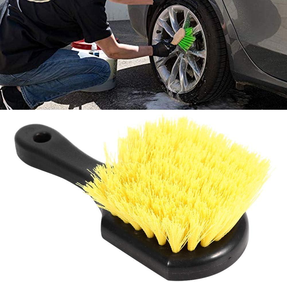 WINOMO Car Wheel Brush Rim Tire Detail Brush Long Handled Brush for Car Motorbike Truck