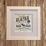 alaska painting - Glenna Jean North Country Wall Art, Alaska