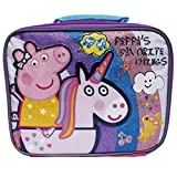 Peppa Pig Pink Peppa's Favorite Things Girls' Insulated School Lunch Bag