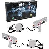 Giochi Preziosi Laser X Blaster, Indoor e Outdoor, con 2 Laser Blaster, 2 ricevitori, Luci e Suoni
