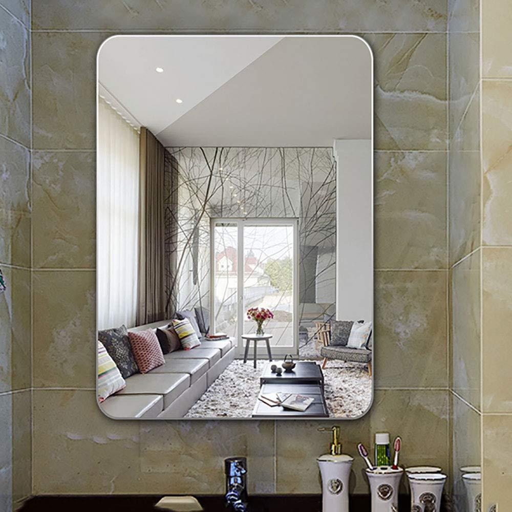 化粧鏡片面hdミラー壁掛けバスルーム化粧鏡 B07pw6cczs B B B