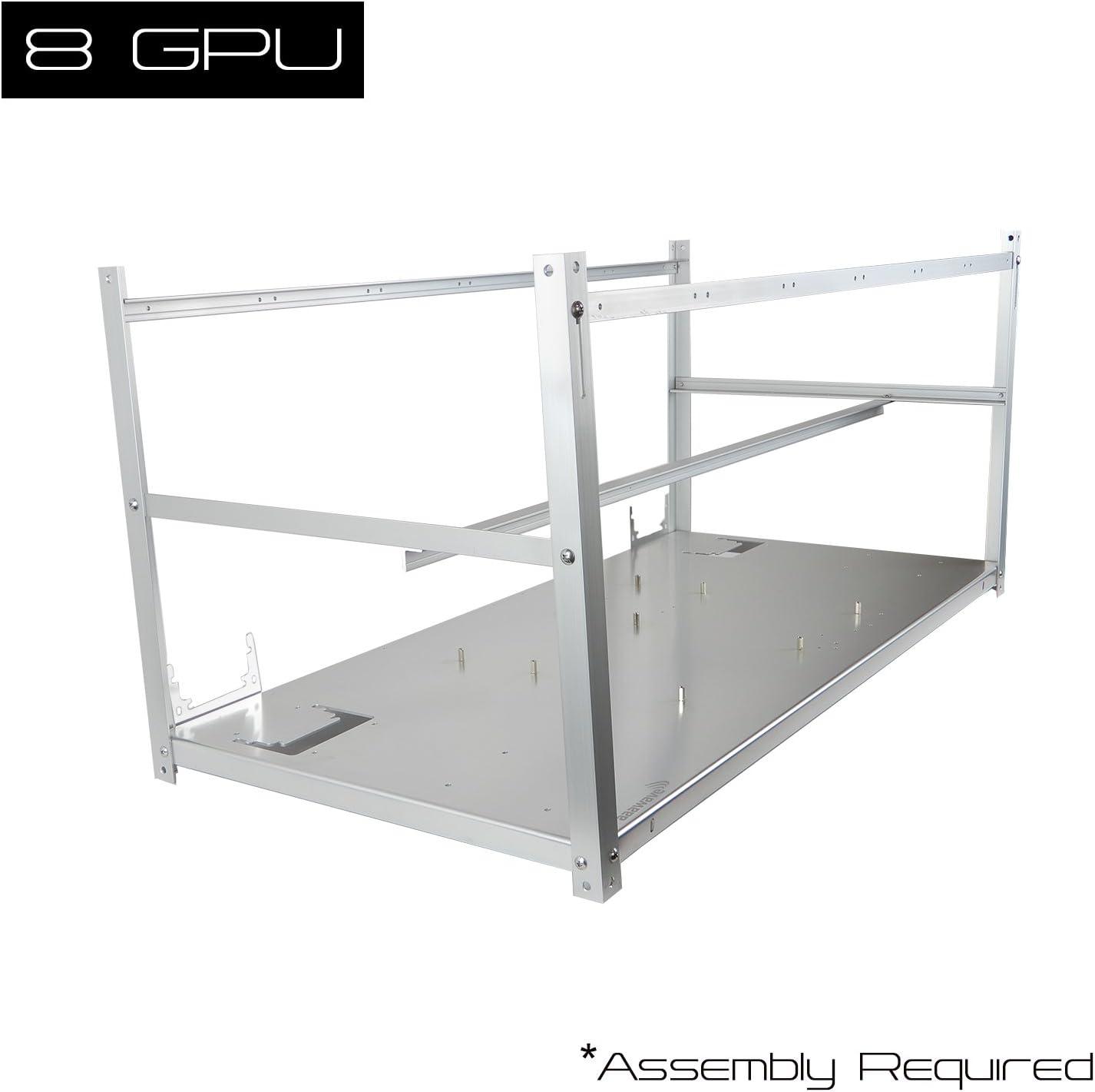 Gabinete Estructura Rig Case Minero Para 8 Gpu AAAwave