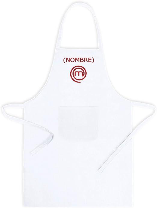 Delantal de Cocina Masterchef. Personalizado con TU Nombre ...