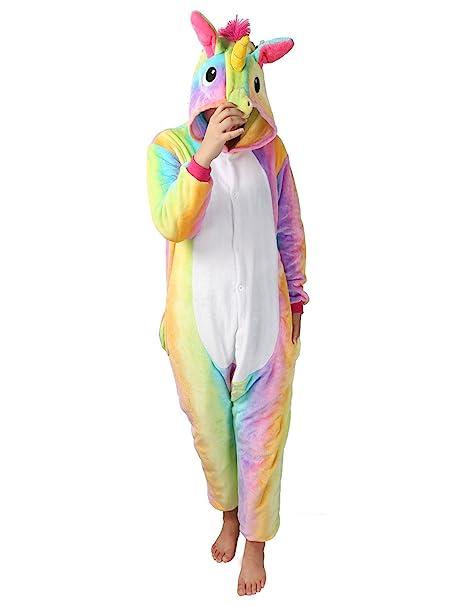 a basso prezzo bce83 a53bb Pigiama o Costume di Cosplay Party Carnevale Halloween Animali Pigiama  Intero Tuta OnePiece Regalo di Compleanno per Adulti
