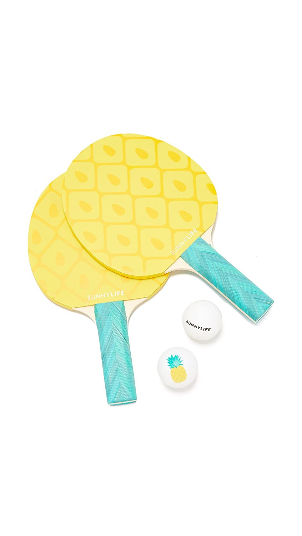 Amazon.com: sunnylife de la mujer Piña Ping Pong Set, talla ...
