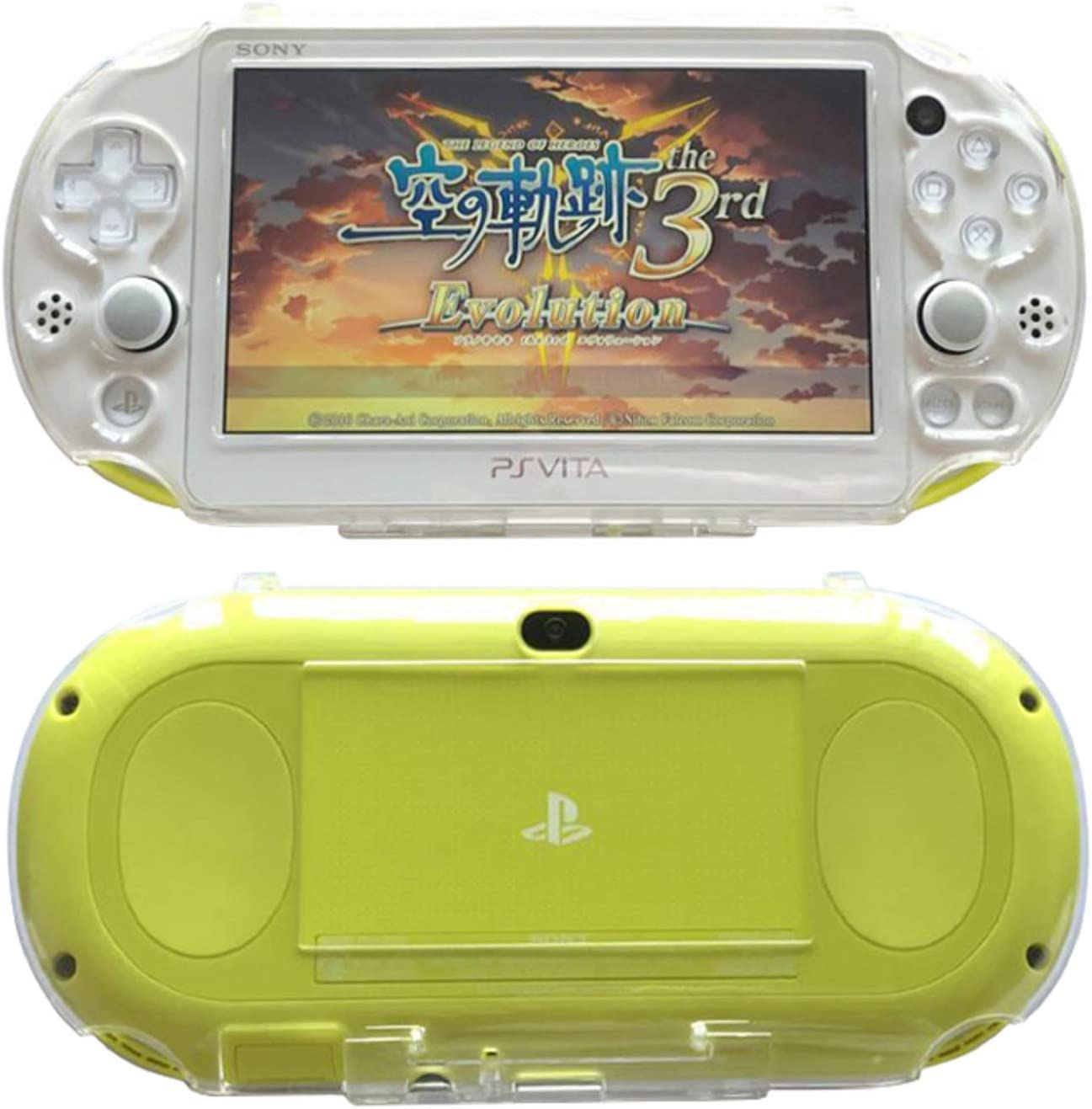 Amazon Com Snnc Playstation Vita 2000 Full Cover Skin Crystal Clear Hard Case For Psv2000