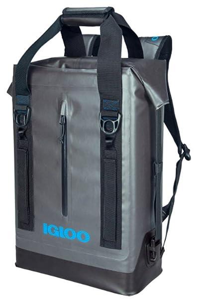 7d48e0bdb1 Amazon.com   Igloo Wade Weldes Cooler 13qt Water Resistant Backpack ...
