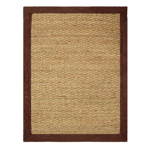 Chesapeake Seagrass 5-Foot by 7-Foot Area Rug, Chocolate (Sea Grass Rug)