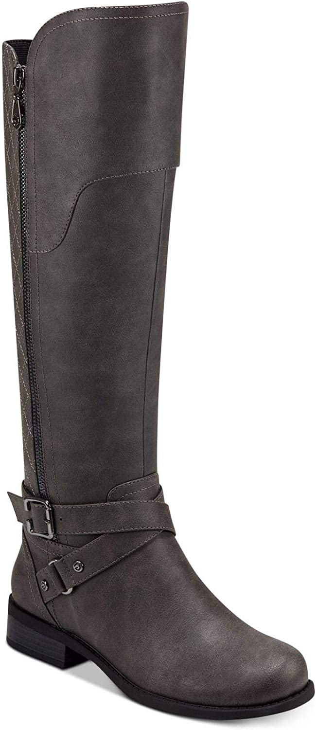 G By Guess Womens Shoes Haydin Leather Almond Toe Knee High Fashion Boots