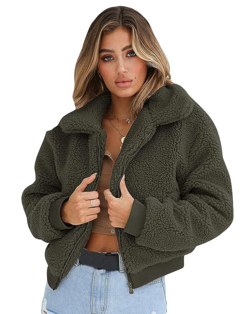 eb9260c7ce5 Zengbang Moda Chaqueta Suéter Abrigo Jersey Mujer Invierno Pullover  Sudadera con Capucha Mujer Caliente Top Outwear