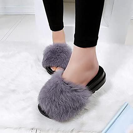 SEX Ciabatte da donna Flip Flops Pelliccia di peluche per scarpe autunno   inverno  Scarpe da 8483003464c