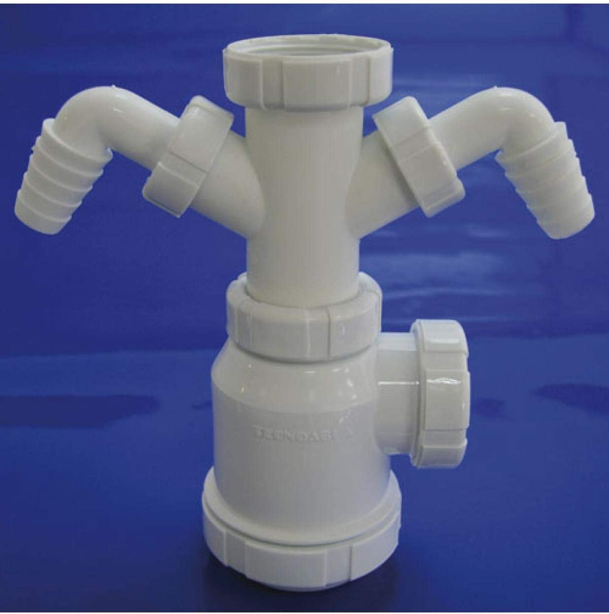WOLFPACK LINEA PROFESIONAL 4110240 Sifon Botella Extensible T-4-TD 1 1/2 2 Tomas Lavadora