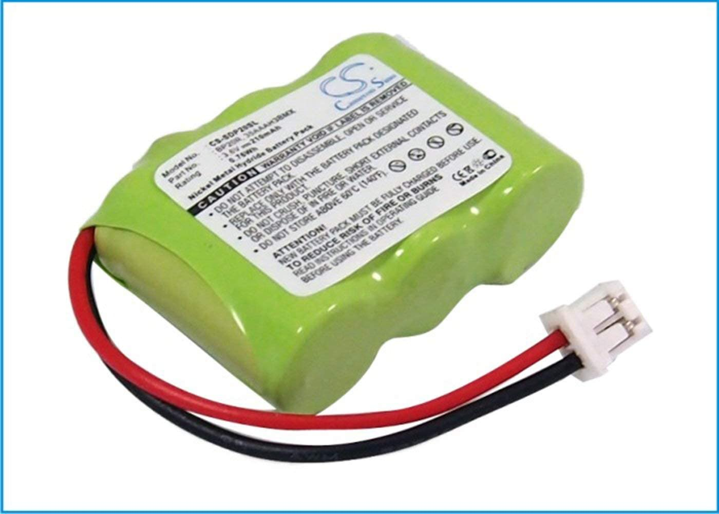 VINTRONS 210mAh Battery for Dogtra 200NCP Gold Collar, 210NCP Collar,