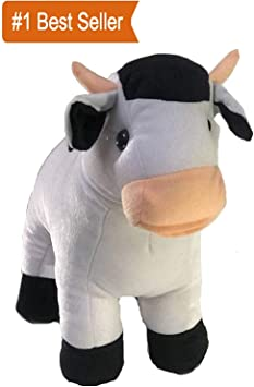 OSJS Super Soft Lovable Huggable Cute Cartoon Character Cow (Best for Someone Special)