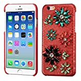 Asmyna Crystal 3D Dynamite Cover for Apple iPhone 6s/6 - Red Lizard Skin