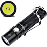 Sofirn SP10B Keychain light Mini flashlight Max 573 Lumens Cree LED XP-G2 Small Water-Resistant IPX8 5 Light Modes, EDC Practical Good Gift Choice
