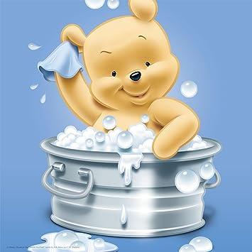 Amazonde Disney Baby Winnie Pooh Auf Leinwand 25 X 25 Cm